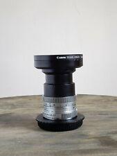 Schneider-Kreuznach Cinegon 10mm f1.8 M4/3 +UV filter MFT