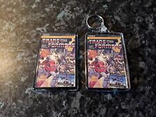 Transformers Comic Cover Keyring and Magnet Set. Issue 1. G1 UK Prime, Megatron