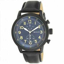 Genuine Henley Men's Fashion Textured Sports Blue Dial Watch H02182.6