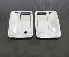 99-15 Ford Super Duty F250+F350+F450 Chrome 2 Door Handle w/o psg keyhole Cover