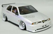 1/10 RC Car BODY Shell ALFA ROMEO 155 GTA 190mm SILVER *FINISHED* #48475