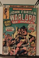 John Carter Warlord of Mars #6 (Nov 1977, Marvel)