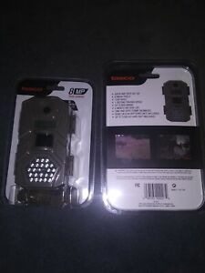 2 BRAND NEW Tasco 8mp Trail Camera 1sec trigger 6 month battery 119271cw