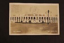 1940 RPPC REAL PHOTO POSTCARD FRONT VIEW CASA MANANA FORT WORTH TEXAS