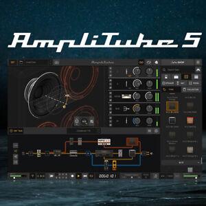 Virtual Guitar Plugin - АmpliТube 5 Complete 5.01 VST x64 | FULL EDITION (PC)