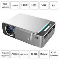 Mini HD 1080P LED LCD Projector Movie Video Smart Home Cinema Theater HDMI USB