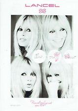 Publicité Advertising 089  2010  Lancel  maroquinerie sac BB Brigitte Bardot