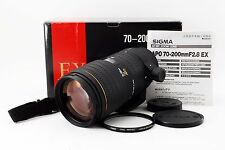 SIGMA AF 70-200mm f/2.8 f2.8 EX APO for Minolta Sony A w/Box EXCELLENT+++ Japan