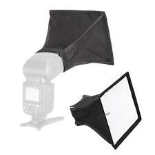15x17cm Mini Softbox Difusor suave para Speedlight Flash Nikon Canon Oloong Sony