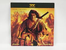 Laserdisc The Last Of The Mohicans The Movie Daniel Day Lewis