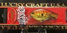 """Lucky Craft Made In JAPAN """" Flat CB SR """" 5/16oz Floating 2 1/2"""" Crankbait lure"""
