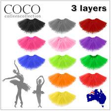 Adult Girl Kids Size Tutu Skirt Princess Dressup Party Costume Ballet Dancewear