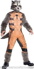 Rocket Raccoon Guardians of the Galaxy GOTG Deluxe Child Costume Rubies 620003
