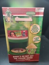 "NIB Elf the Movie ""Buddy's Do Not Eat The Yellow Snow"" Snow Cone Maker Sno-Cone"