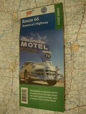 AAA Route 66 Guide Series America's Highway Travel Road Map Vacation Ship