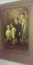 Vtg Photo Darling Children Sailor Suit, Knickers, Purdy's Photography Boston