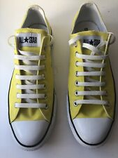 Converse Yellow Canvas All Star Low Top Sneakers: 10 / 44 £65 Mr Porter