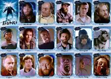 The Thing 1982 movie trading cards. Kurt Russell Keith David Alien
