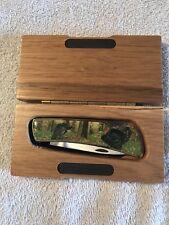 """""""Turkey""""  Pocket Knife in a Wooden Box"""