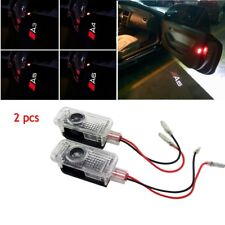 2 X Door Welcome Logo Ghost Shadow Light LED Courtesy Laser For Audi A3 A4 A5 A6