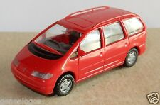 MICRO WIKING HO 1/87 VW VOLKSWAGEN SHARAN ROSSO no. box