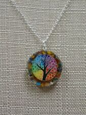 Orgone TREE OF LIFE Pendant Strengthen Heal Energy Protect inner peace chakra