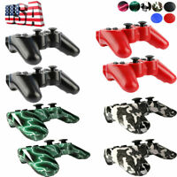 US  1x/2x Wireless Bluetooth Game Controller Pad For Sony PS3 Playstation 3 oli