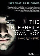 DVD: The Internet's Own Boy, Brian Knappenberger. New Cond.: Tim Berners-Lee, Ci