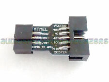 10pin 6pin Adapter Converter USBasp USB ISP KK2.0 KK2.1 Multiwii ATMega AVR - UK