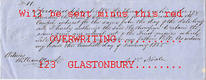 M61 Orig. 1855 Prom. Note, NEALE of Grantham