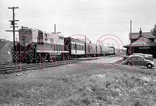 Northern Alberta Railways (NAR) Diesel Engine 203 at Dawson Creek - 8x10 Photo