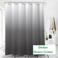 "Creative Home Ideas Ombre Textured Shower Curtain For Bathroom 71""X 71"""