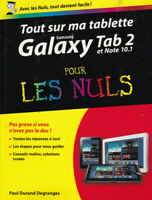 SAMSUNG GALAXY TAB 2 ET NOTE 10.1 POUR LES NULS - TBE