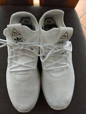 Adidas Pharrell Williams PW HU Tennis Sneaker Schuhe Gr. 46  US 11,5 white weiß