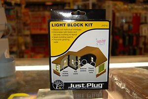 "Woodland Scenics ""Just Plug Lighting System"" 5716 * Light Block Kit * NIB"