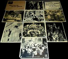 1935 A Night at the Opera ORIGINAL 30s 1st SPAIN LOBBY CARD SET Marx Brothers