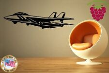 Wall Stickers Vinyl Decal Plane Aircraft Airplane Jet Flight ig837