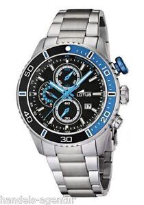 Chronograph Lotus Sports 15789/3 UHR Armbanduhr Herren