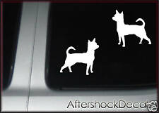 Chihuahua Dog Sticker Decal Pair