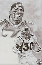 Denver Broncos Terrell Davis poster picture print art