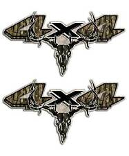 Dakota Truck Decal - 4x4 Camo Skull Hunting Sticker