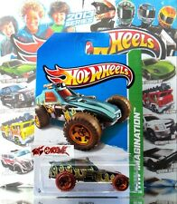 Hot Wheels 2013 #69 Enforcer™ METAFLAKE DARK GREEN,ORANGE CHROME OR5SP,NEW