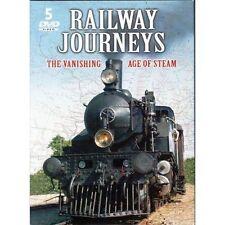 Railway Journeys: The Vanishing Age of Steam (DVD, 2005, 5-Disc Set)