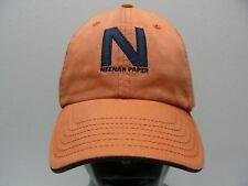 Neenah Papier - Orange - Taille Unique Casquette Snapback Boule Chapeau