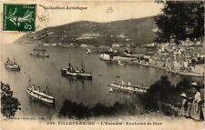 CPA  Villefranche - L'Escadre - Environs de Nice    (655917)