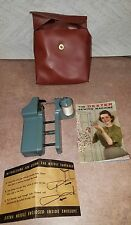 DEXTER SEWING MACHINE ORIGINAL AND COMPLETE W INSTRUCTIONS &THREAD NEEDLE