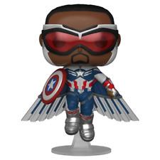 Funko 51649 Pop Marvel The Falcon Winter Soldier - Captain America WMT