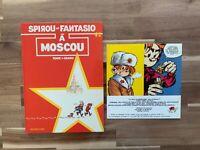 Spirou et Fantasio n°42. À Moscou. Dupuis 1990