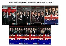 LAW AND ORDER UK COMPLETE SERIES 1-7 DVD COLLECTION SEASON 1 2 3 4 5 6 7 UK Rele