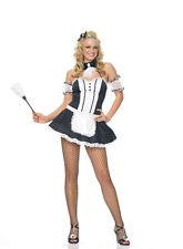 Sexy Frenchie Maid Costume, Leg Avenue, 8-14, French Maid, Oooh La La